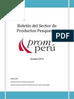 Boletin Pesquero OCTUBRE 2014