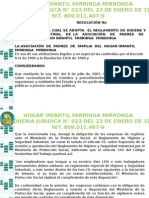 Presentación Reglamento de Higiene y Seguridad Industrial