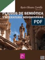 PLIEGOS de Semiótica y Literatura Novohispana