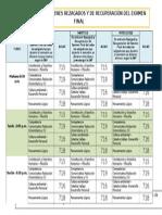 Cronograma Rezagado y Recuperación Ffgg 2015-1 11 Jul
