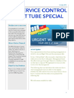 RMT Night Tube Update- Service Control News