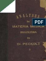 PECKOLT Analyses de Materia Medica 1868