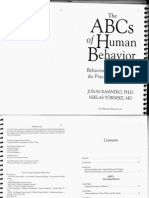 The ABCs of Human Behavior 1