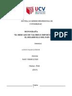 El Mercado de Valores Peruano Completo