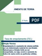 MOVIMENTO DE TERRA 2 parte.ppt