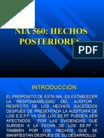 NIA 560 HECHOS POSTERIORES.ppt