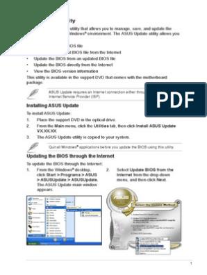 English ASUS Update MyLogo2 3 v1 0 | Bios | Booting