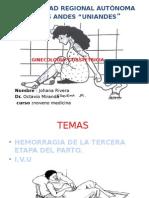 Hemorragias Del Tercer TRIMESTRE COMPLETOO