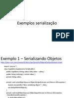 ExemplosDeSerialização