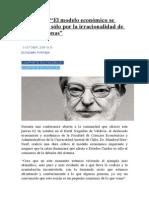 Max-Neef El Modelo Económico