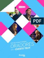 Seleccionar Oradores Evento Tech