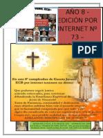 Gaceta Juvenil Ecb Nº 73 - Junio y Julio 2015