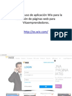 Manual Uso Wix Vitaemprendedores(1)