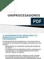 UNIPROCESADORES y Multiprocesadores