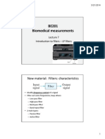 S2014 BE201 - Lecture 7 Filters_Handouts