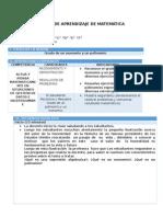 SESIÓN DE APRENDIZAJE DE MATEMÁTICA.docx