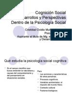 Cognición Social Desarrollos y Perspectivas Dentro de La Psicología Social