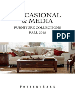 Pottery Barn Occasional & Media Furniture Collection- Fall 2015