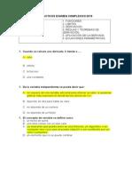 REACTIVOS Analisis Matematico I