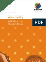 Wipro Lighting Showroom Manual