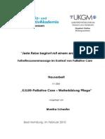 Hausarbeit Palliative Care