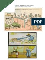 Caricaturas de La Primera Guerra Mundial