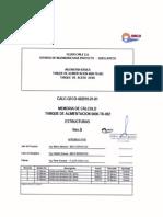 MEMORIA DE CALCULO DE TANQUE API650