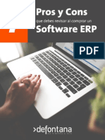 7 Pros y Contras para Elegir un Software ERP