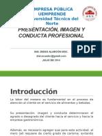 Imagen y Conducta Profesional-diego Alarcón