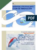 Herramientas de gestion de innovacion de Gestion