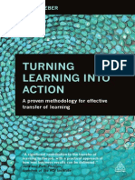 Turning Learning into Action