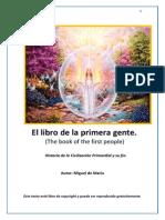 the book of the first people, el libro de la gente primera