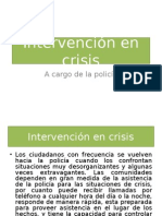 Intervención en CrisisPOLICIA