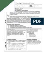 assessment planning er