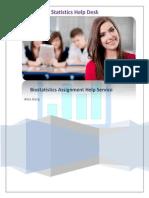 Biostatistics Assignment Help Service