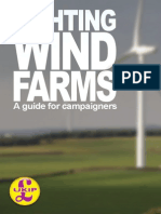Fighting Wind Farm