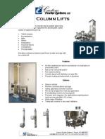 Column Lifts