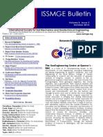 Issmge Bulletin October 2014