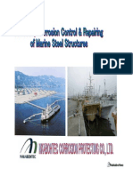 Corrosion Control of Marine Structures