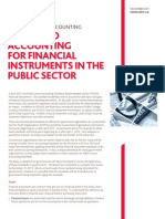 BDO a Guide to Accounting for Financial Instruments in the Public Sector 2011