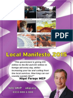 UKIP Local Manifesto 2015