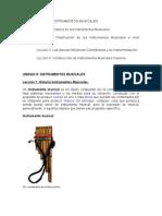 Unidad III Instrumentos Musicales (1)