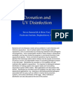 Ozonization and Uv Disinfection