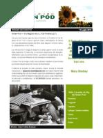 GreenPod Notiziario 16 Luglio 2015