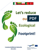 """Comenius Shared Book - """"Let's Reduce our Ecological Footprint!"""""""
