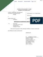 Osborne v. Menu Foods Inc - Document No. 5