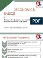 Macroeconomics Basics