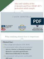 2010 Dental Fear Scale Jason