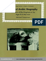 Cooperson_Classical Arabic Biography