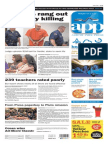 Asbury Park Press front page Friday, July 17 2015